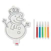 Colour Your Own Balloon Christmas Crafts Marker Pen Party Bag